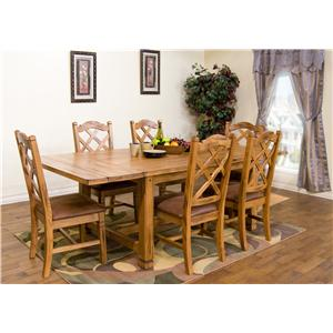 Morris Home Furnishings From Morris Home Furnishings - 5pc Dining Set
