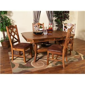 Market Square Morris Home Belfast 5 Piece Dining Set