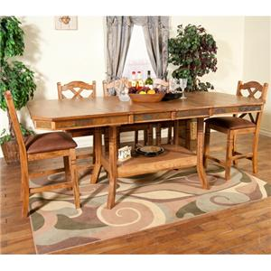 Morris Home Furnishings From Morris Home Furnishings - Belfast 5 Piece Pub Dining Set