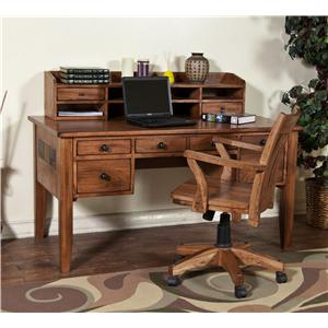 Market Square Morris Home Waco Writing Desk & Hutch