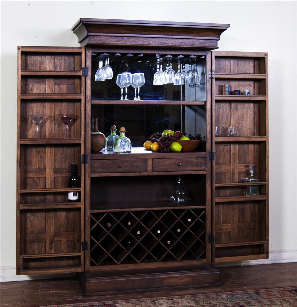 Morris Home Furnishings Sonora II Bar Cabinet - Item Number: 1913AC