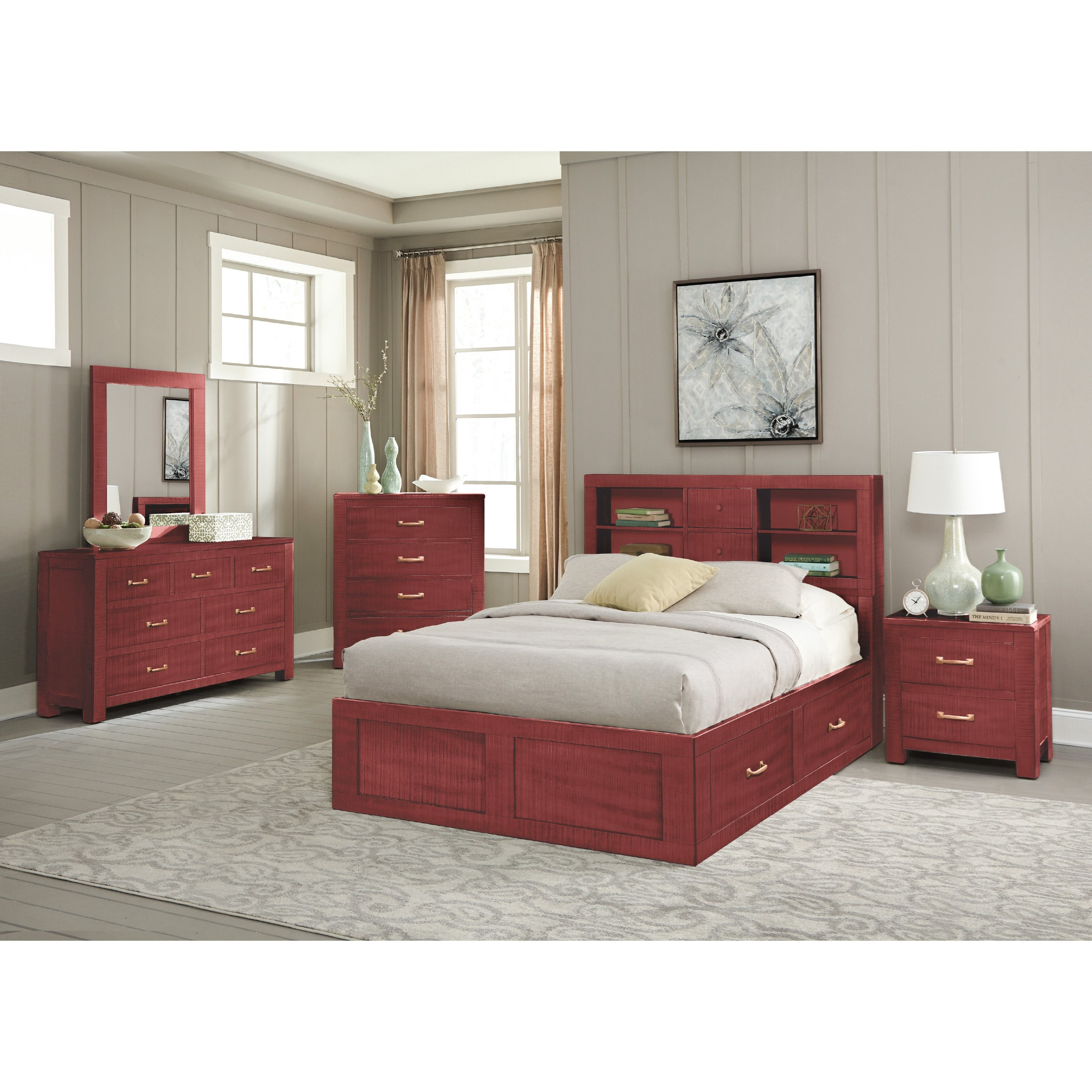 2319 Twin Bedroom Group by Sunny Designs at Factory Direct Furniture