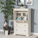 Sunny Designs 2848 Casual Laptop Armoire with File Drawer