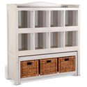 Sunny Designs 2993 Storage Bookcase w/ Trundle Bench - Item Number: 2993MW