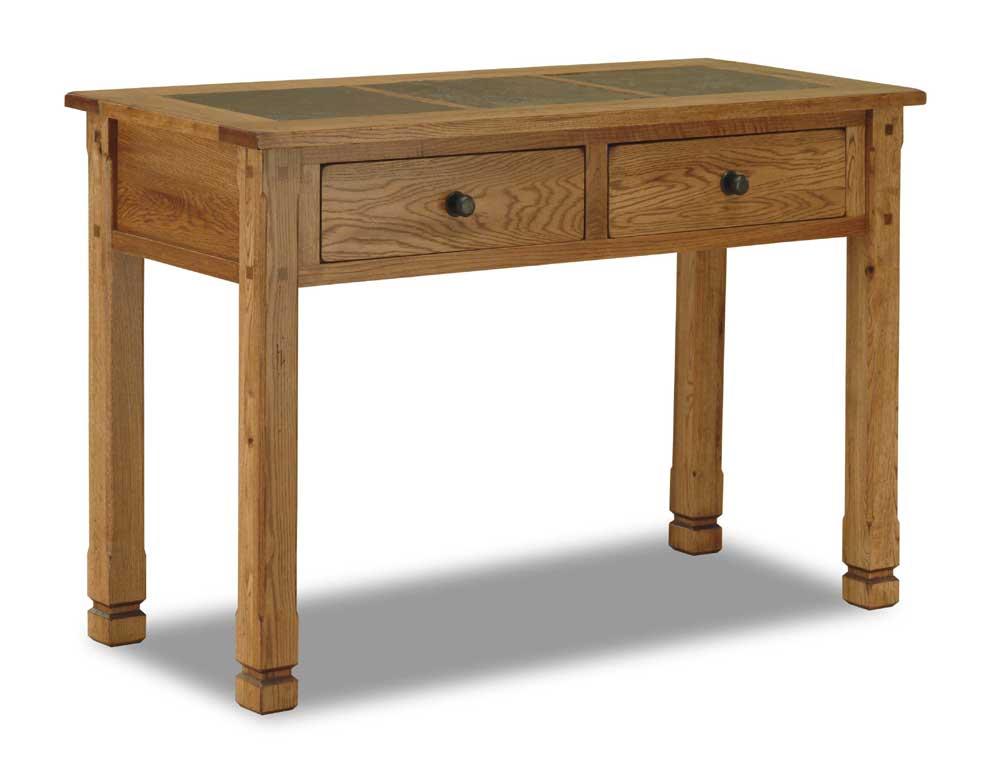 Sunny Designs Sedona Sofa/Console Table w/ Slate Top - Item Number: 3145-RO
