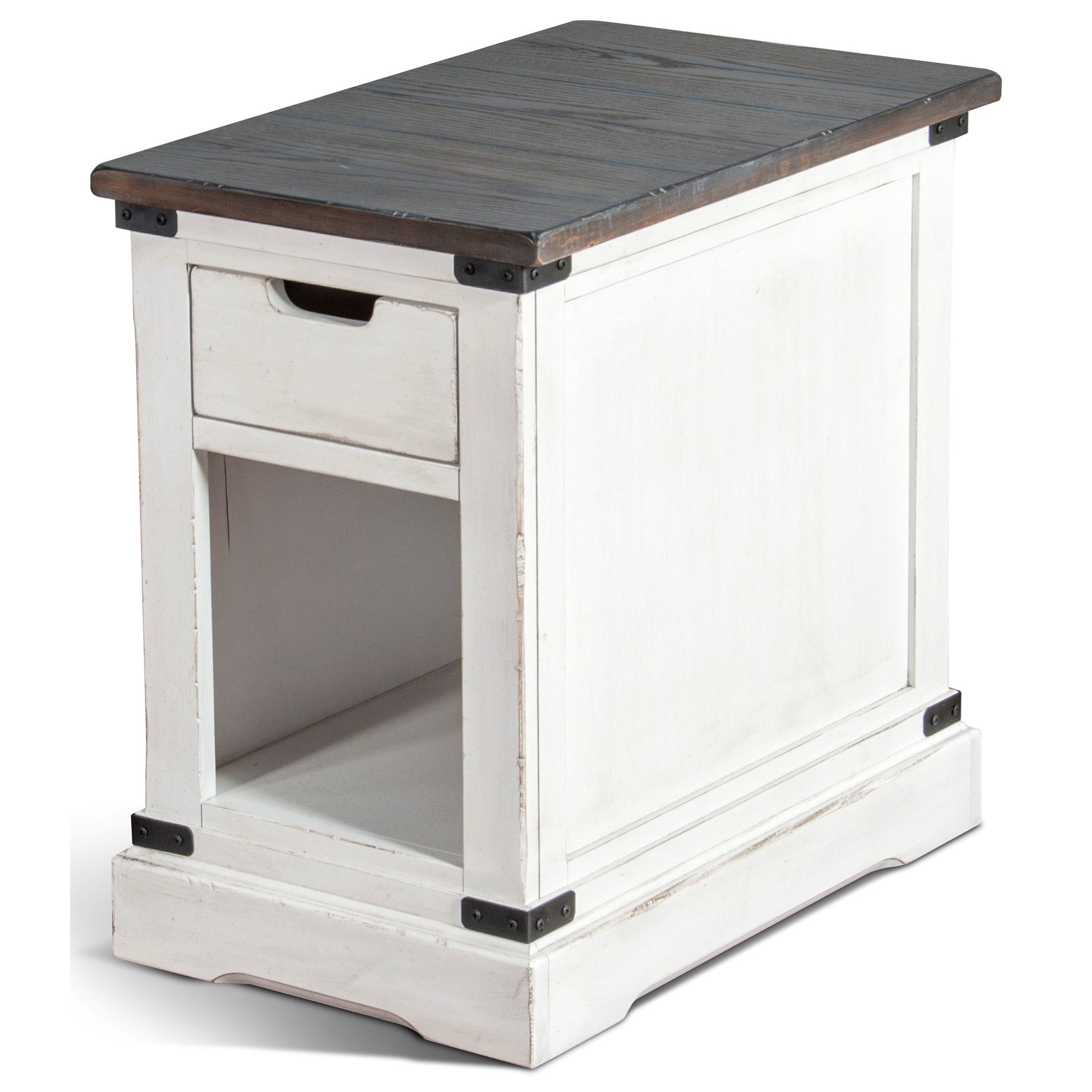 3270 Chair Side Table by Sunny Designs at Factory Direct Furniture