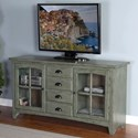 "Sunny Designs Elements 64"" TV Console - Item Number: 3562GN-64"