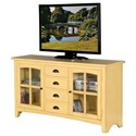 "Sunny Designs Elements 64"" TV Console - Item Number: 3562TY-64"
