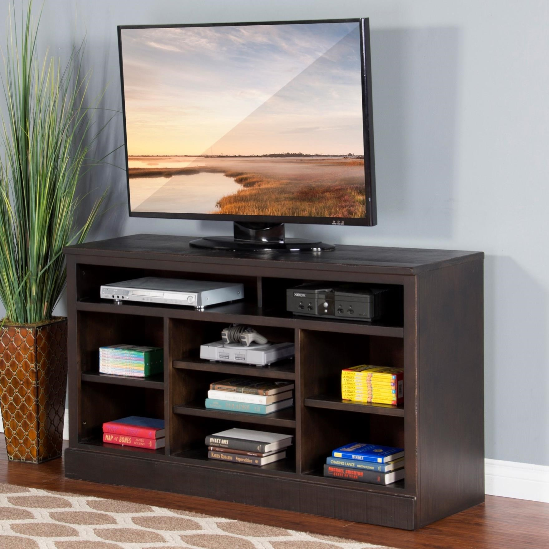 "Sunny Designs 3579 55""W TV Console - Item Number: 3579CO-55"