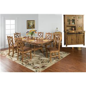 Sunny Designs Sedona 9Pc Dining Room