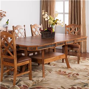 Sunny Designs Sedona Adjustable Dining Table