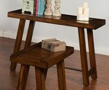Morris Home Furnishings Acorn Valley Acorn Valley Sofa Table - Item Number: 171011985