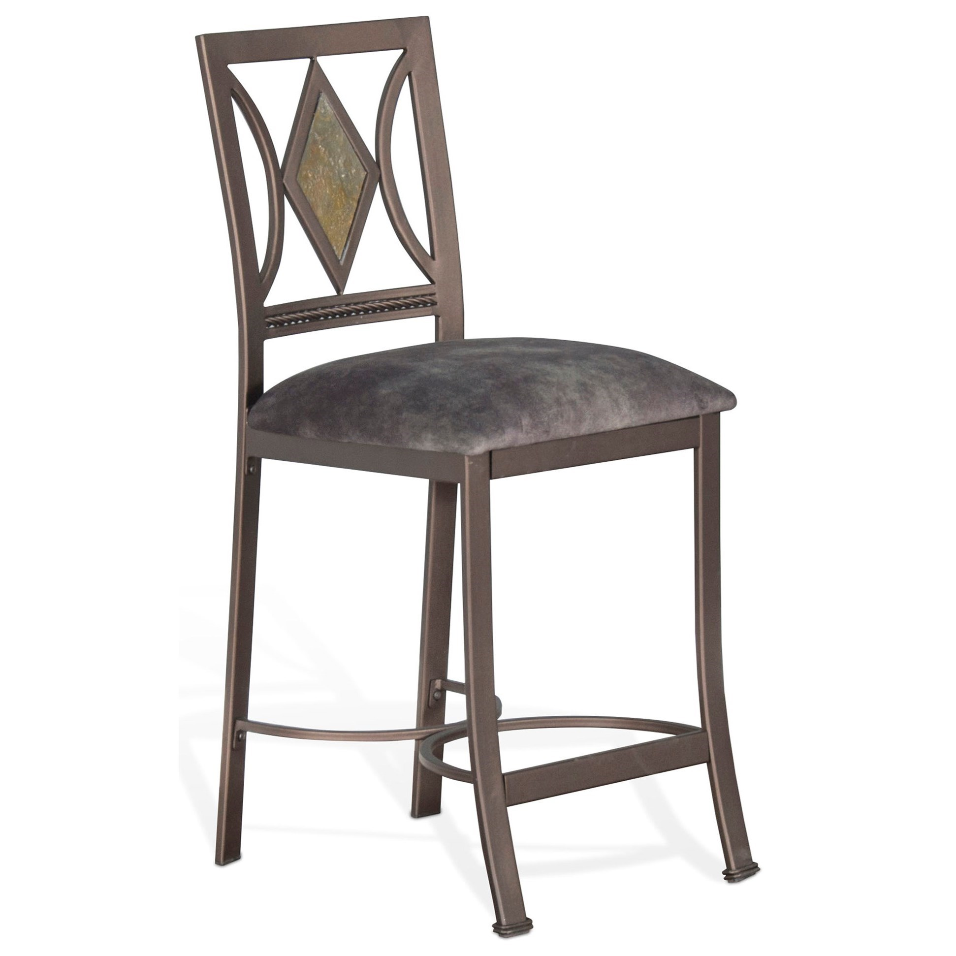 Alexander Counter Height Barstool  by Sunny Designs at Suburban Furniture