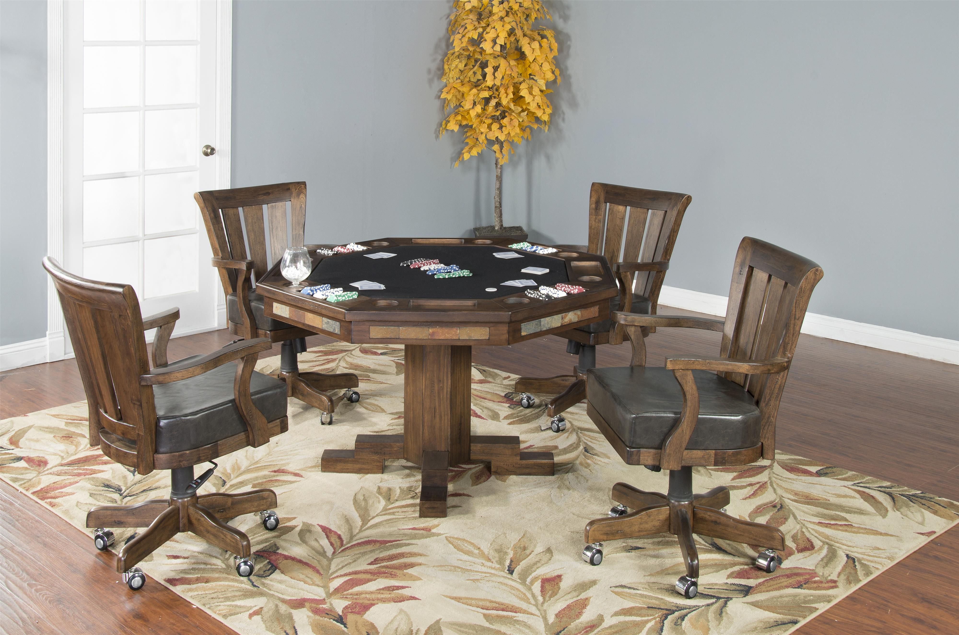 Alton 5-Piece Game Table