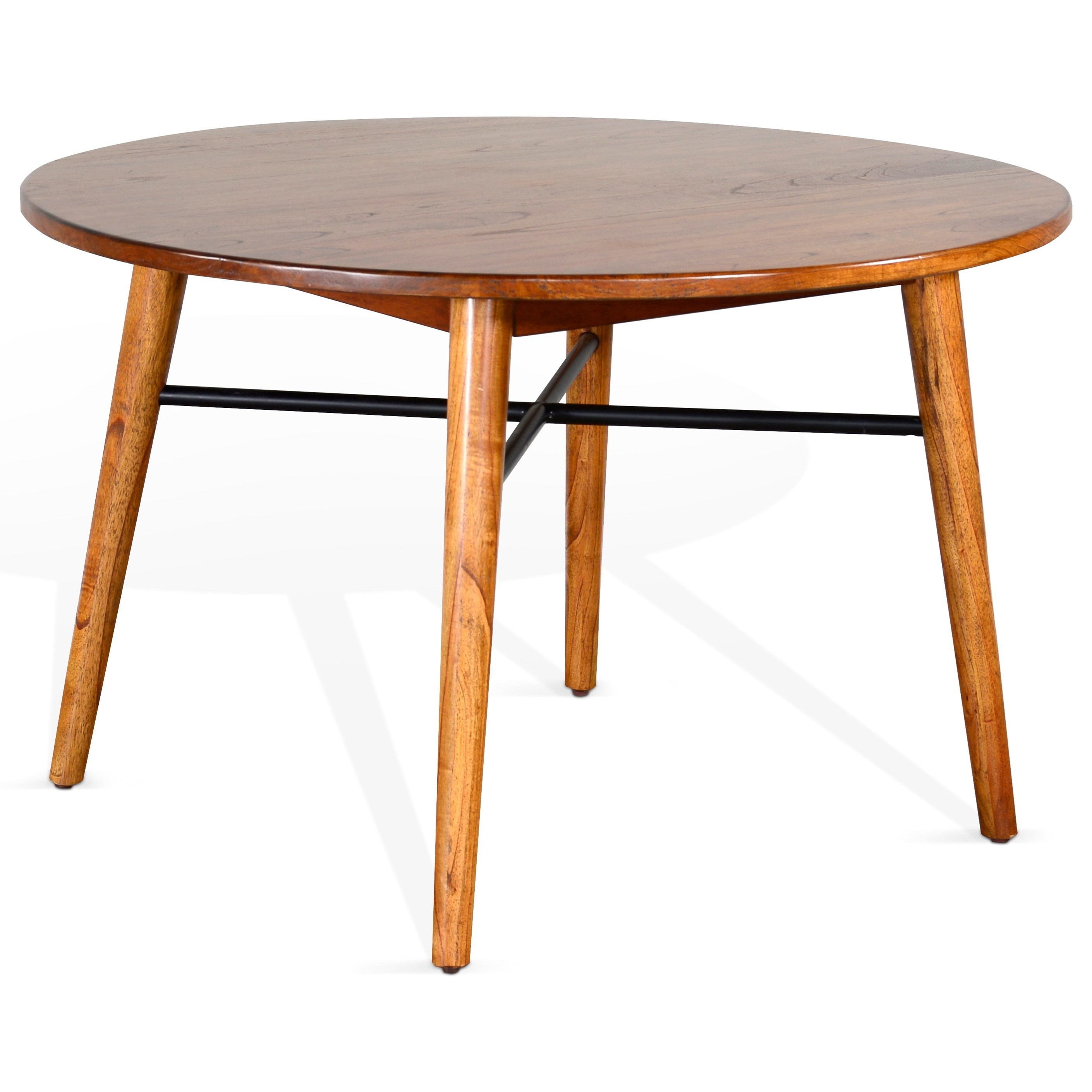 American Modern Round Table by Sunny Designs at Home Furnishings Direct