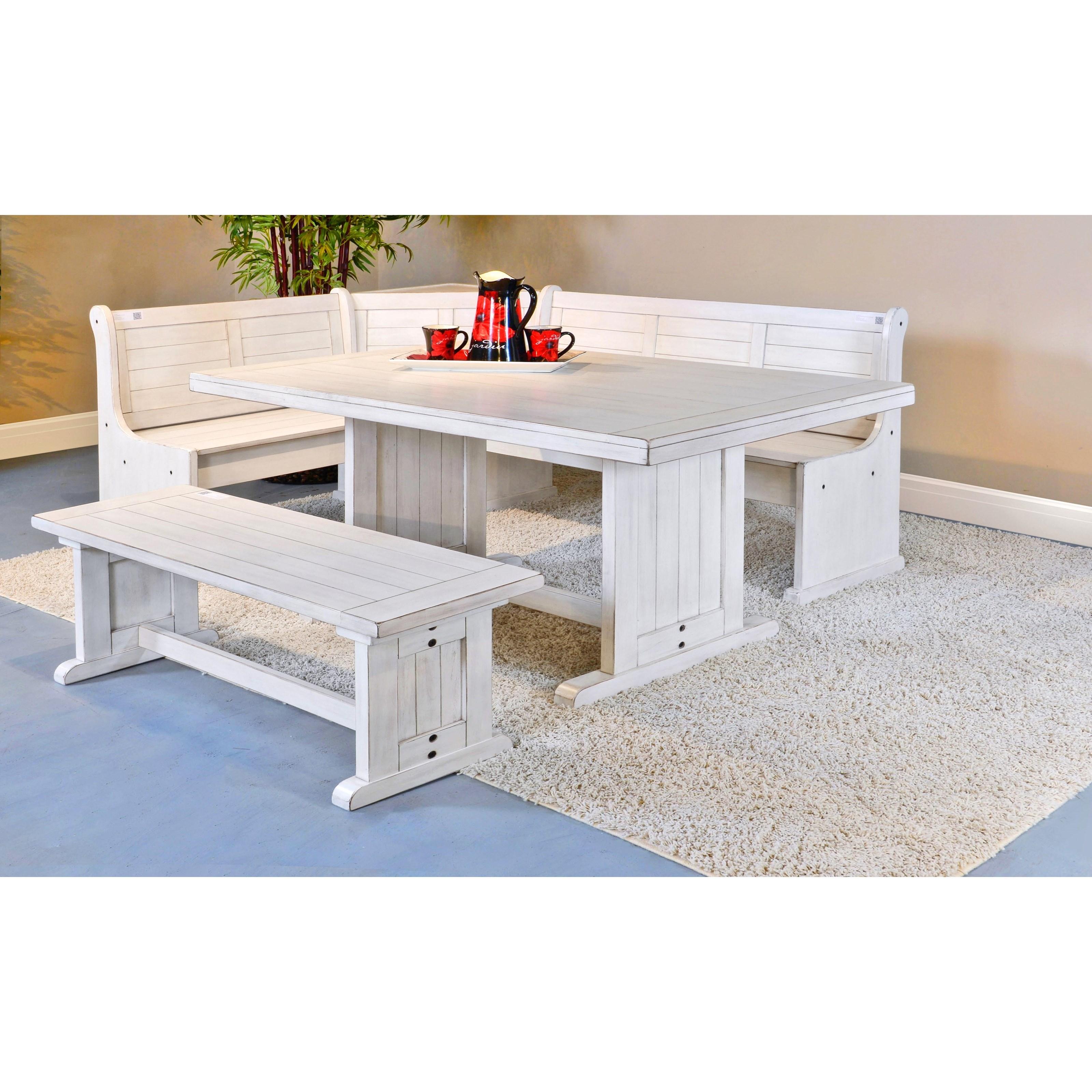 Sunny Designs Bayside Trestle Table   Conlin's Furniture ...