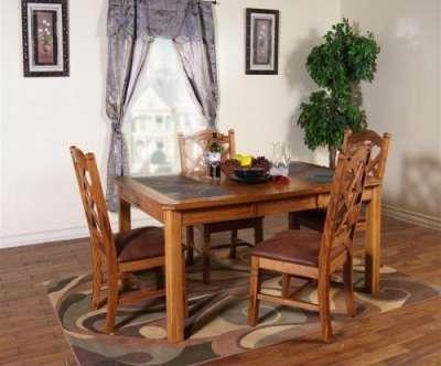 Morris Home Furnishings Belfast Belfast 5-Piece Dining Set - Item Number: 358825251