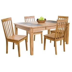 Morris Home Furnishings Belfast Belfast 5-Piece Dining Set