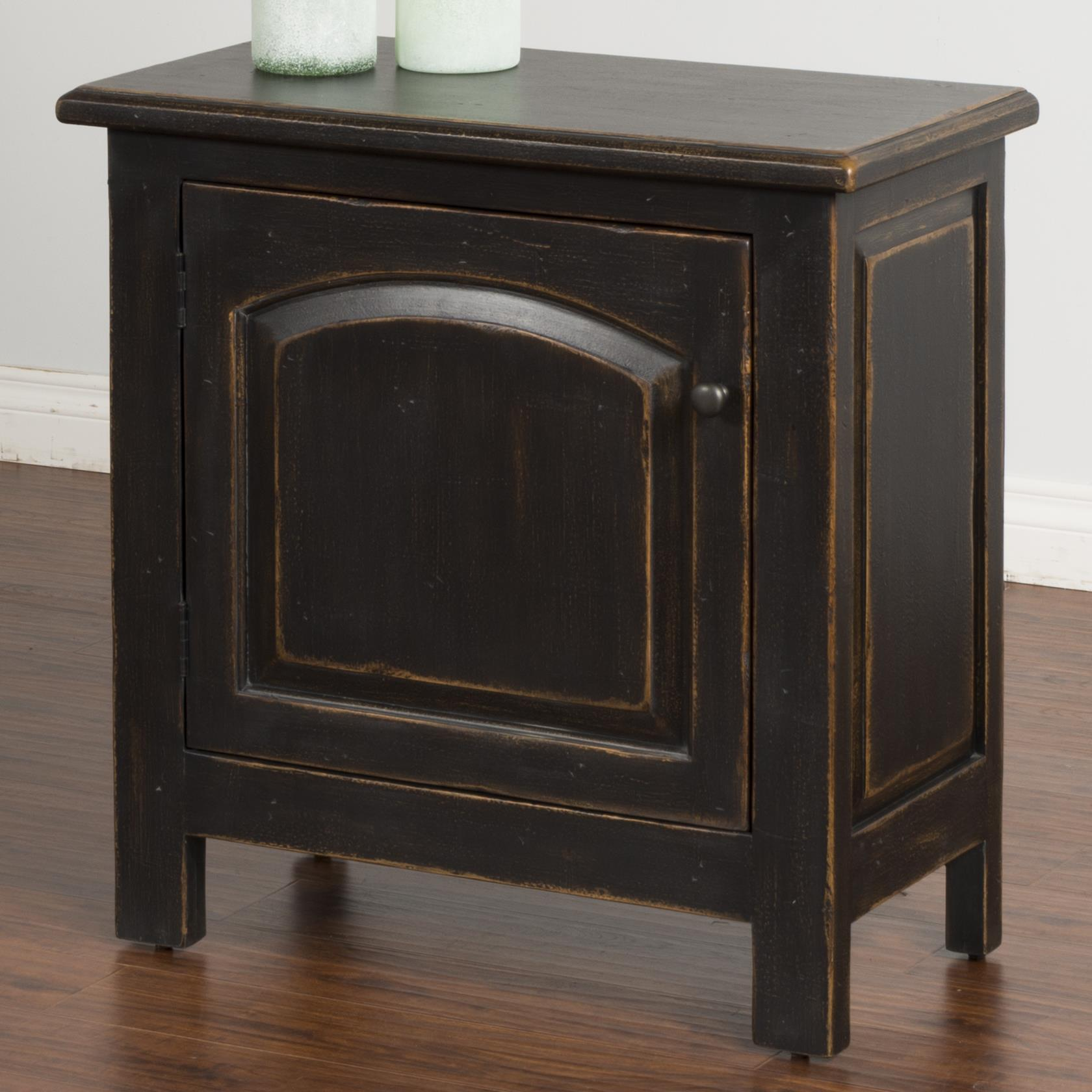 Sunny Designs Black End Table - Item Number: 2271B-E
