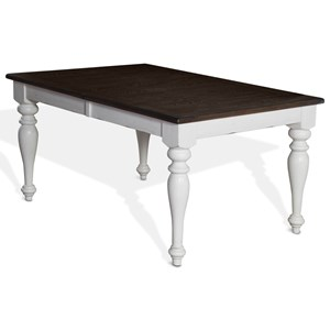 Sunny Designs Bourbon Country Extension Dining Table