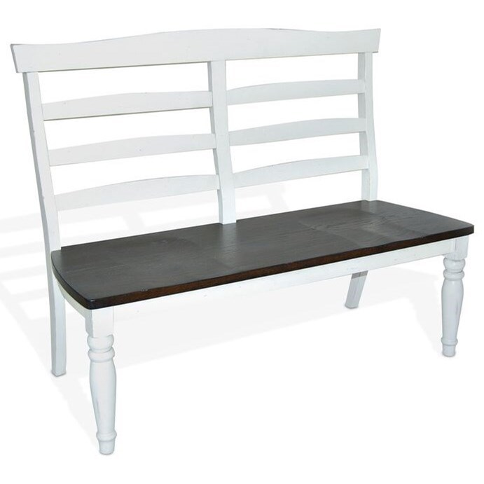Ladderback Dining Bench