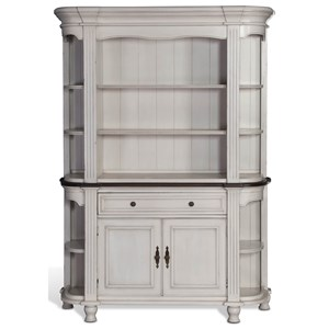 Sunny Designs Bourbon Country Buffet & Hutch