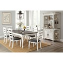 Sunny Designs Bourbon County Formal Dining Room Group - Item Number: FC Dining Room Group 11
