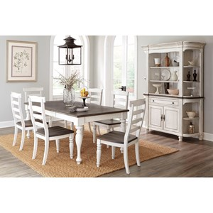 Sunny Designs Bourbon County Formal Dining Room Group