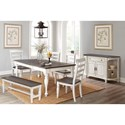 Sunny Designs Bourbon County Formal Dining Room Group - Item Number: FC Dining Room Group 13