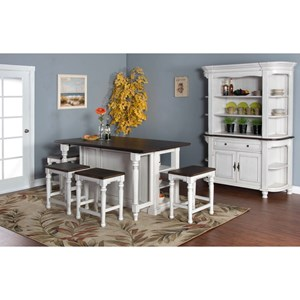 Sunny Designs Bourbon County Casual Dining Room Group