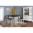 Sunny Designs Bourbon County Casual Dining Room Group - Item Number: FC Dining Room Group 17