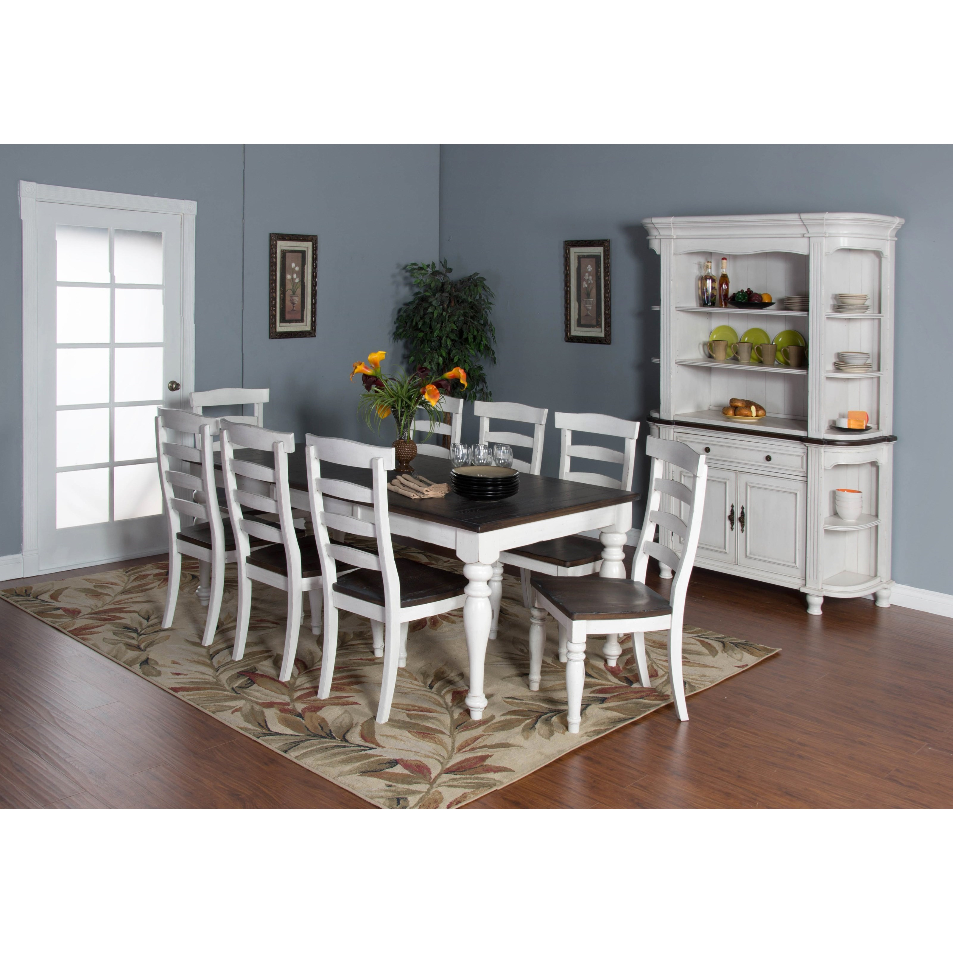 Sunny Designs Bourbon County Casual Dining Room Group - Item Number: FC Dining Room Group 2
