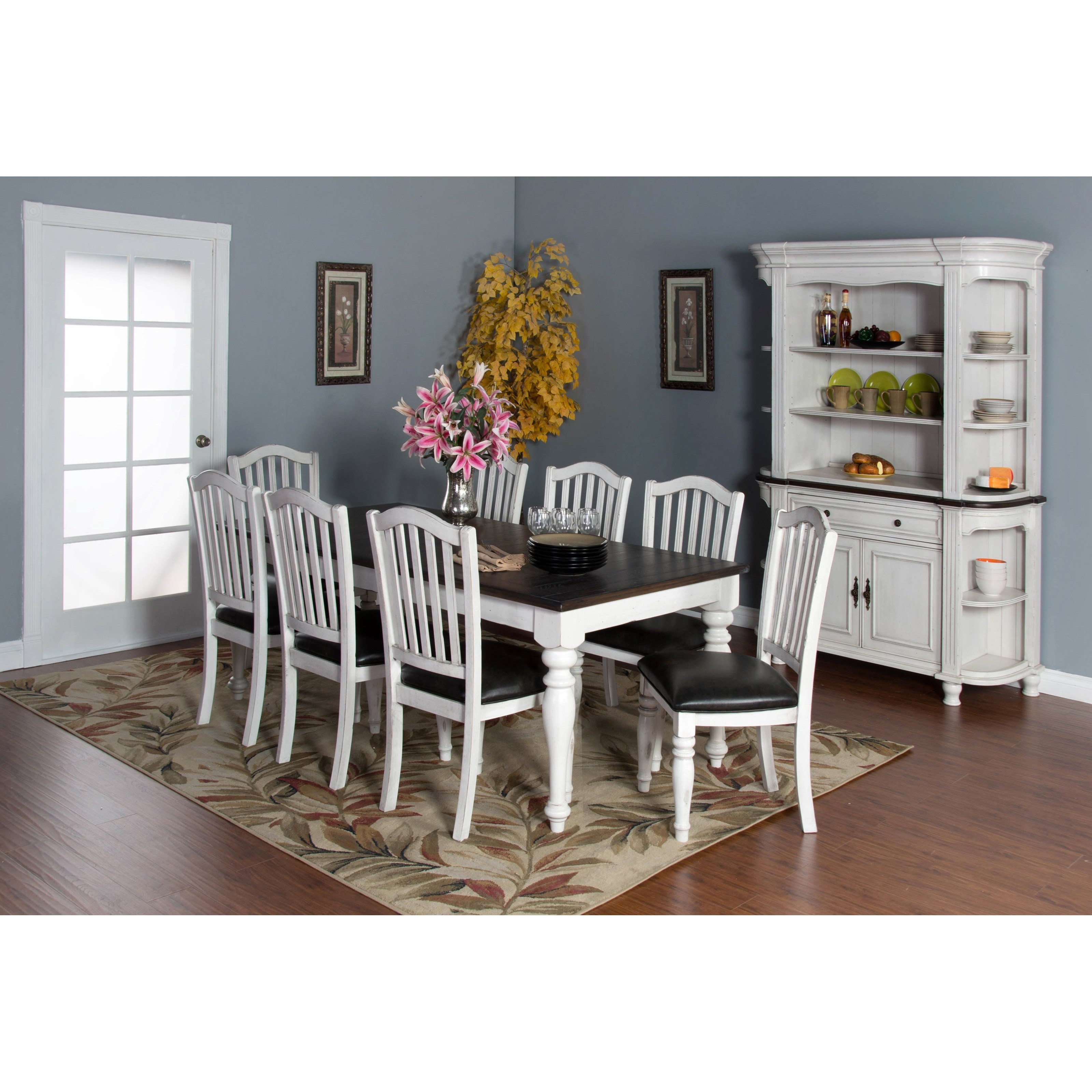 Sunny Designs Bourbon Country Casual Dining Room Group - Item Number: FC Dining Room Group 4
