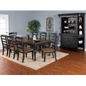 Sunny Designs Bourbon Trail Formal Dining Room Group - Item Number: PJ Dining Room Group 1