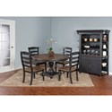 Sunny Designs Bourbon Trail Casual Dining Room Group - Item Number: PJ Dining Room Group 2