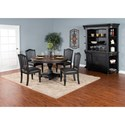 Sunny Designs Bourbon Trail Casual Dining Room Group - Item Number: PJ Dining Room Group 3