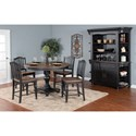Sunny Designs Bourbon Trail Casual Dining Room Group - Item Number: PJ Dining Room Group 4