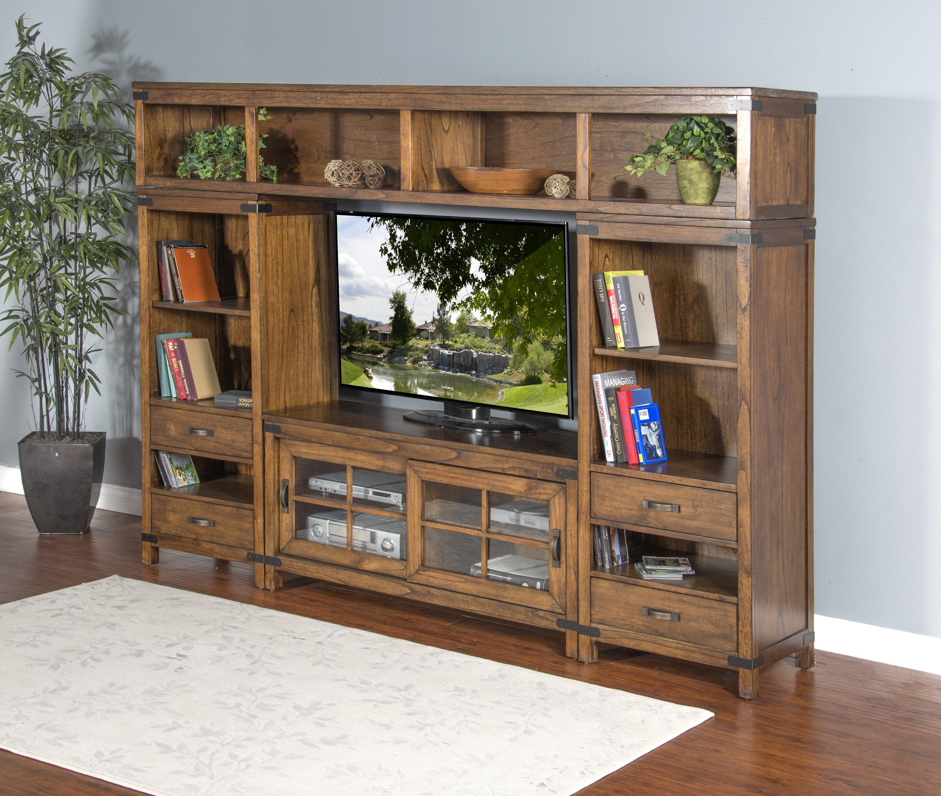 Brantwood 4-Piece Media Wall Unit