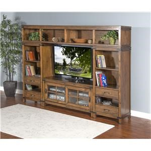 Market Square Brantwood Brantwood 4-Piece Media Wall Unit