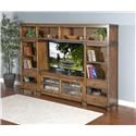 Market Square Brantwood Brantwood 4-Piece Media Wall Unit - Item Number: 649683479