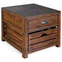 Sunny Designs Canyon Creek End/Lamp Table - Item Number: 3266KW-E