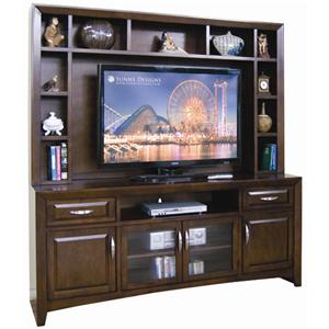 Sunny Designs Cappuccino Wide TV Cabinet