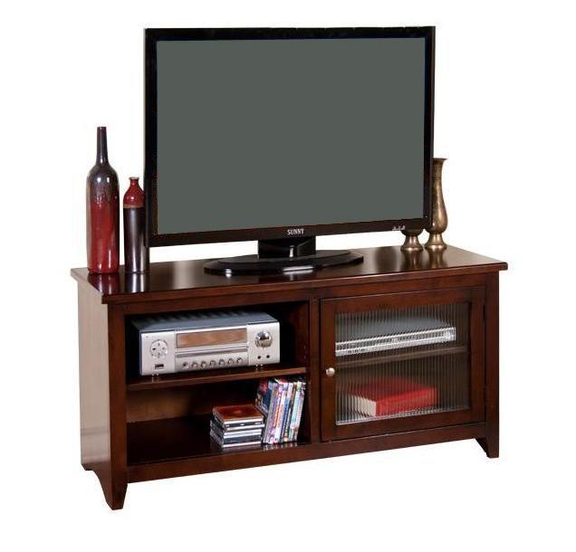 "Sunny Designs Cappuccino 52"" TV Console - Item Number: 3447CA-52R"