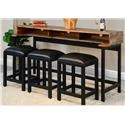 Sunny Designs Carlsted Carlsted Console Table Set - Item Number: 639800374