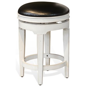 Swivel Stool, Cushion Seat