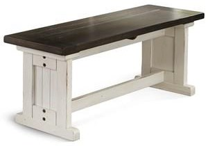 Carriage House Side Bench by Sunny Designs at Walker's Furniture