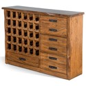 Sunny Designs Chapel Hill Live Edge Server - Item Number: 1986NM