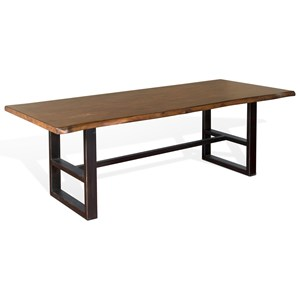 Sunny Designs Crescent Hill Live Edge Table