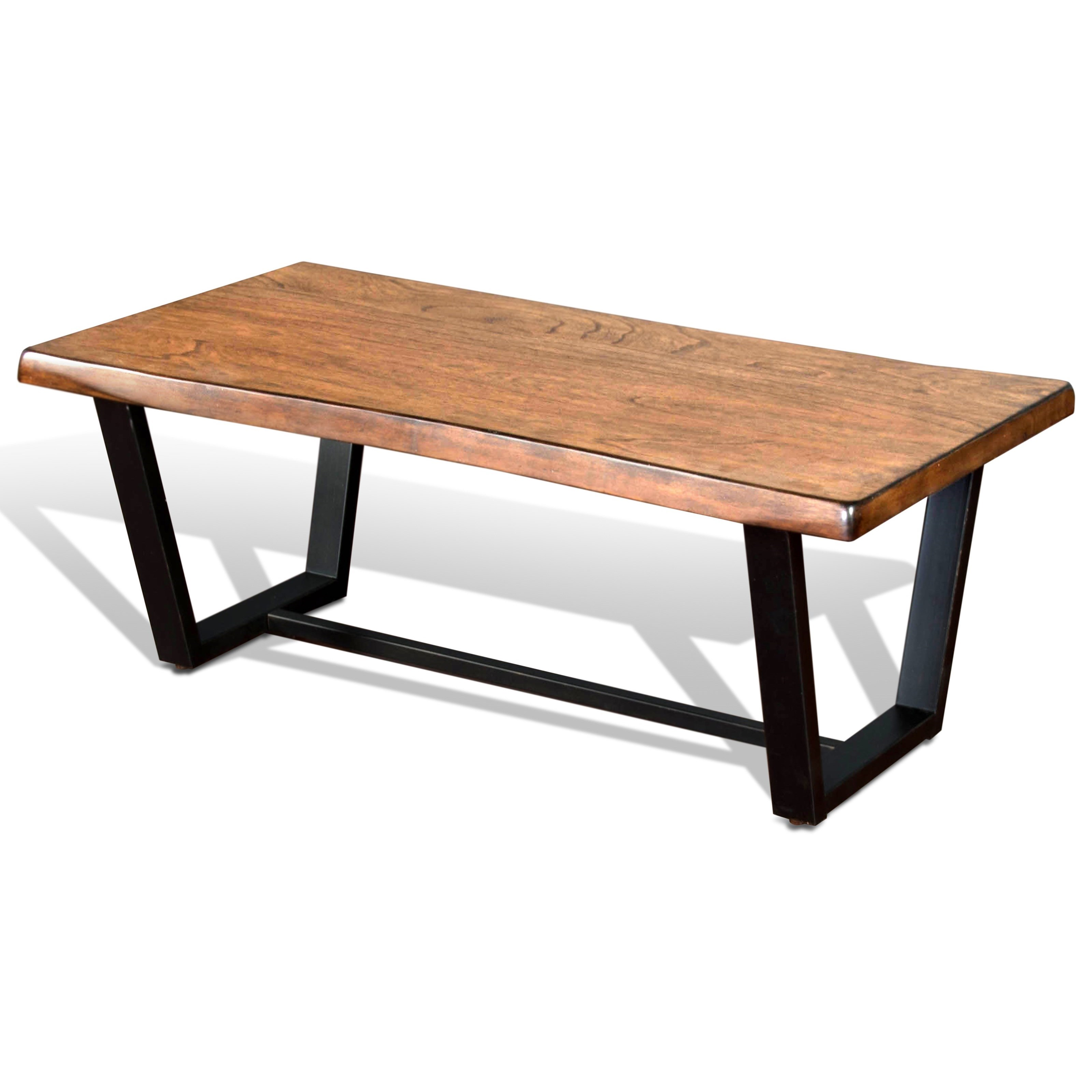 Sunny Designs Cresent Hill Live Edge Coffee Table - Item Number: 3269NM-C