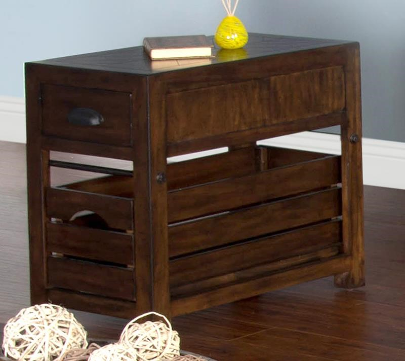 Crestburg Crestburg Chair Side Table by Sunny Designs at Morris Home